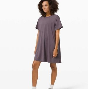 NWT Lululemon All Yours tee dress size 8 Moonphase